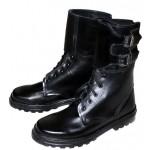 Ejército ruso Spetsnaz cuero Special Forces OMON botas con hebillas