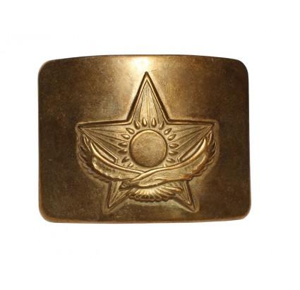 Sovietica esercito fibbia dorata per la cintura Kazakistan