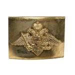 Oficiales de hebilla de oro para la correa con el águila del ejército ruso