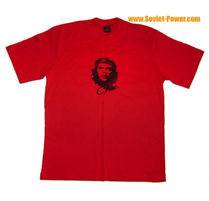 Embroidery T-SHIRT with CHE GUEVARA