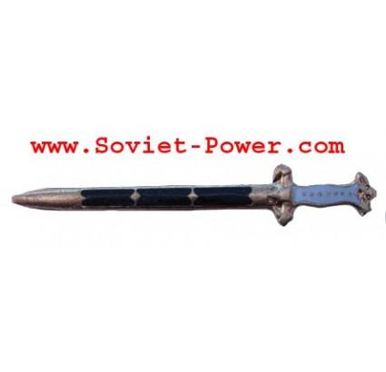 Soviet Naval DAGGER CLIP Metal badge Navy Sword USSR