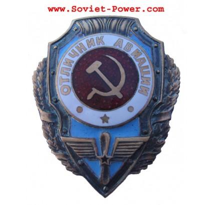 Soviet Air Force Badge EXCELLENT AVIATOR