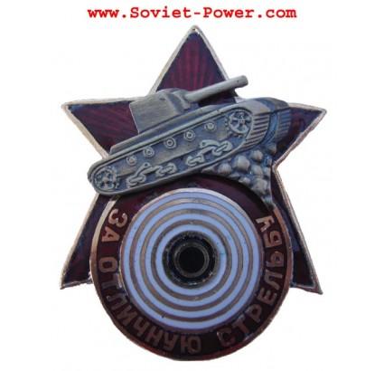 Distintivo premio TANK sovietico PER UNO SCATTO ECCELLENTE