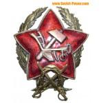 赤軍CAVALRY COMMANDERスターバッジRKKA
