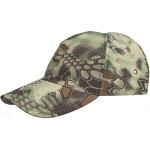 Camouflage baseball cap Python Forest warmed hat
