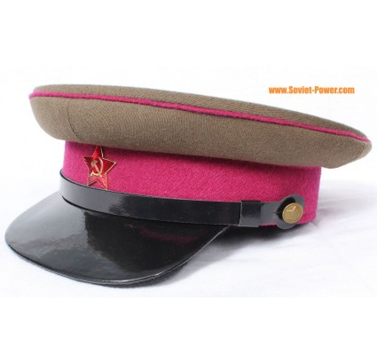 RKKA INFANTRY Officers VISOR HAT Red Army cap