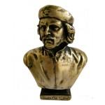 Busto de bronce de Che Guevara líder revolucionario