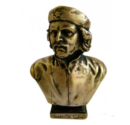 Che Guevara bronze bust Cuban Revoutionary leader