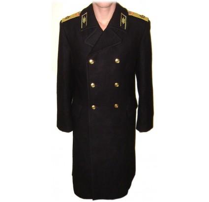 URSS ammiraglio della Marina flotta sfilata nero grande cappotto