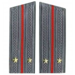 Russian Combined Arms parade shoulder boards for overcoats