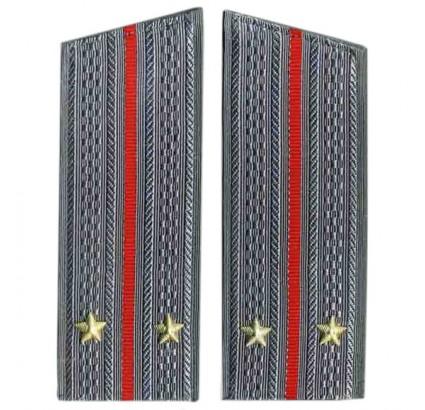 Russische kombinierte Waffen Parade Schulterklappen für Mänteln