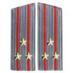 Armas Combinadas Oficiales Mayores Desfile Abrigos Hombreras