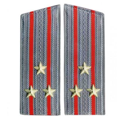 Kombiniert Arme Leitendes Personal Parade Mänteln Schulterklappen