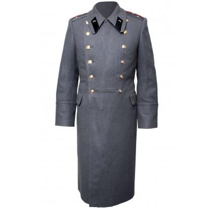 Russian military Soviet ARTILLERY parade gray Officers overcoat