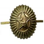 Field hat badge cockade Soviet Officers insignia