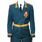 Ejército soviético / ruso uniforme del coronel-general del desfile