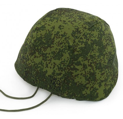 Digital pixel camo 6B27 Russian cover for military helmets