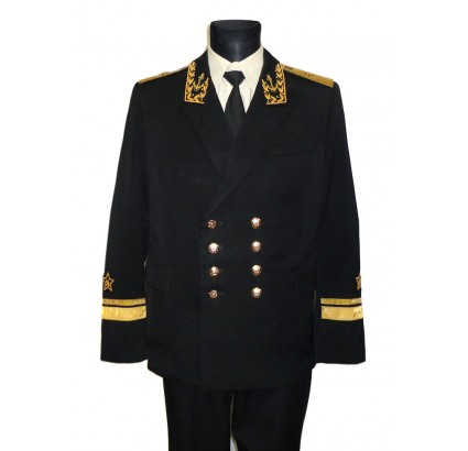 Russian Fleet Admirals uniform with bullion embroidery size 50 / 52