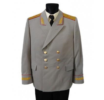 UdSSR Generals Sommeruniform mit Gimp Stickerei
