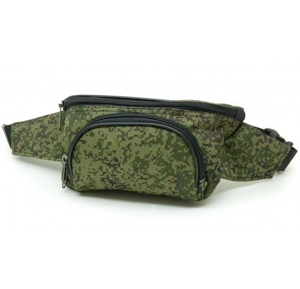 Digital camo Russian kangaroo waist bag