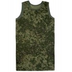 Russische grüne digitale taktische Tarnung pixel T-Shirt