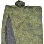 Raincoat tent special Russian digital camo special groundsheet