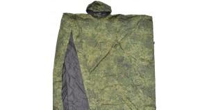 Raincoat tent special Russian digital camo special groundsheet