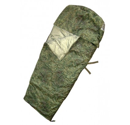 Russian Army digital camo modern sleeping bag