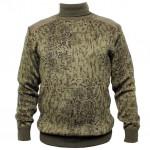 Suéter tejido de invierno Ejército ruso digital camo