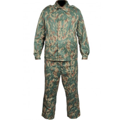Soviet Army DUBOK Oak Leaf forest camo uniform with hat
