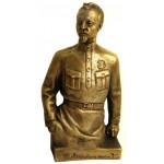 Statue de bronze russe Révolutionnaire soviétique du buste de Dzerjinski