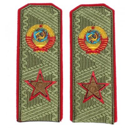 UDSSR Armee Marschall hochrangige Schulterplatten