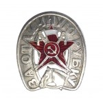 "Red Army badge ""For Excellent Slashing"" Russian cavalry award"