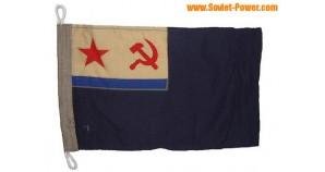 Soviet FLAG of AUXILIARY SHIP of USSR Navy Fleet
