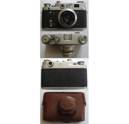 FED 3 Russian 35mm Camera Industar 50 USSR Leica copy