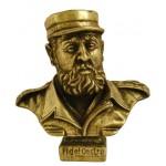 Fidel Castro buste en bronze Leader de la révolution
