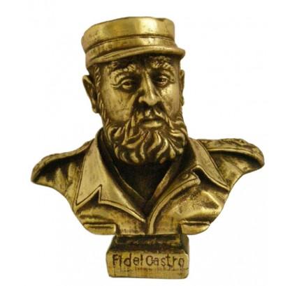 Fidel Castro bronze bust Revolution leader