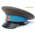 Les troupes aéroportées soviétiques VDV sergent chapeau visière militaire
