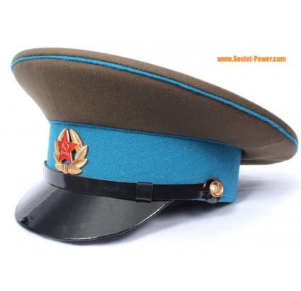 ソ連の空挺部隊は軍曹の軍事バイザー帽子をVDV