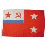 ソ連艦隊の中隊司令官ネイビー旗