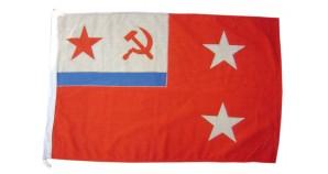 Squadron commander Navy flag from USSR Fleet