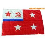 COMANDANTE DE FLOTAS SOVIÉTICA Bandera de la marina rusa 3 estrellas