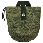 Russian digital camouflage pixel military flask case