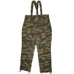 Russes pantalons militaires Flora avec bretelles
