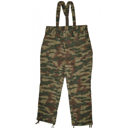 Russian Flora military trousers with suspenders