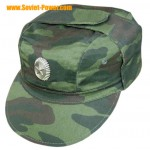 Russian Army FLORA hat 3-color earflaps camo cap