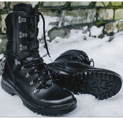 Tactical modern leather winter boots FORESTER
