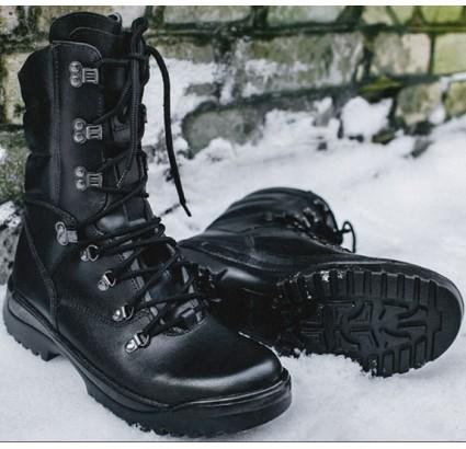 戦術的な近代的な革の冬のブーツのフォレスター