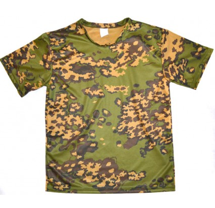 T-shirt tactique camouflage de la grenouille russe Partizan absorbant l'eau