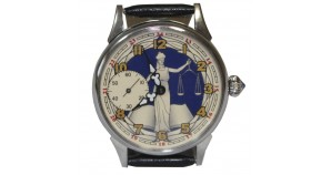 Femida the goddess of justice Russian Molnija Wristwatch